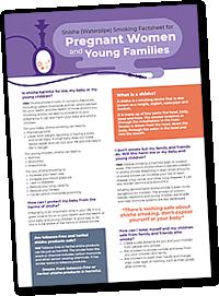 Shisha Fact Sheets - Pregnancy Factsheet